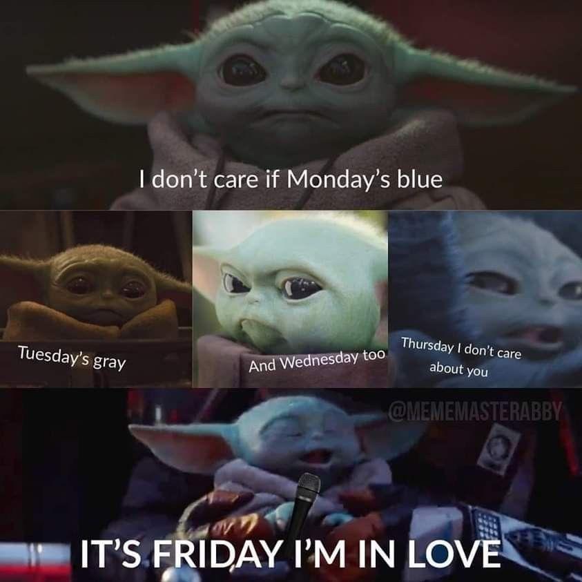 Pin By Baby Yoda Love Mel Lafferty On Baby Yoda Memes Yoda Funny Yoda Meme Star Wars Jokes