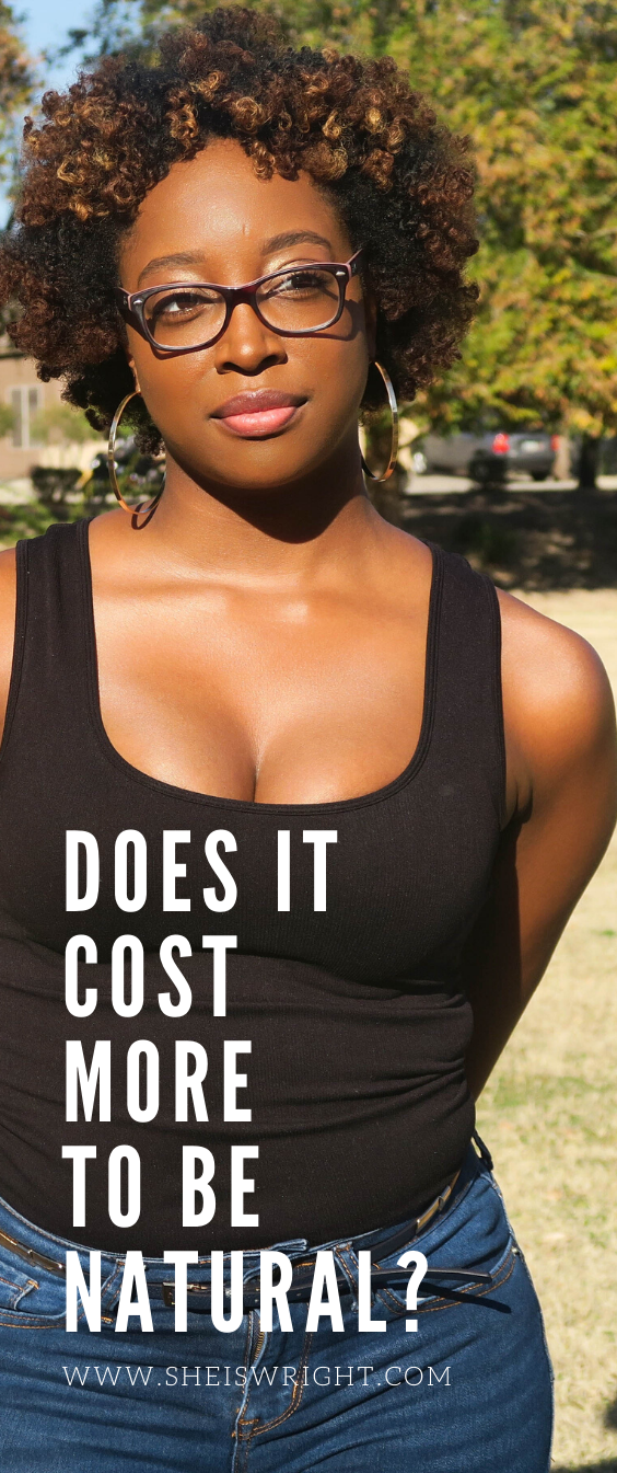 Does Having Natural Hair Cost More? in 2020 Natural hair