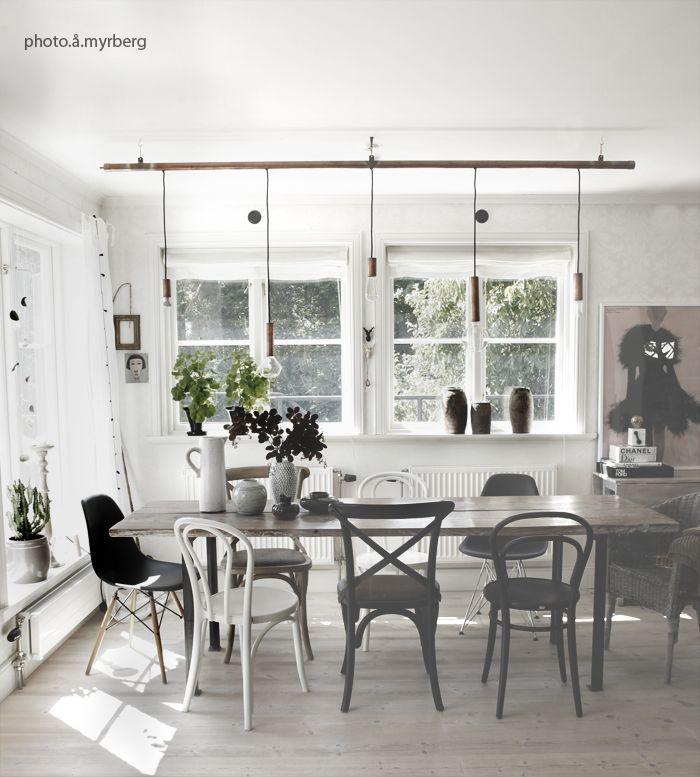 Sköna hem | Stolar, Stol matbord, Hem inredning