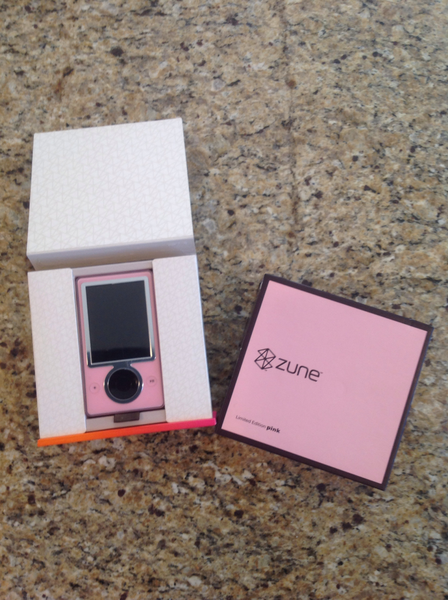 30 gig limited-edition pink Zune