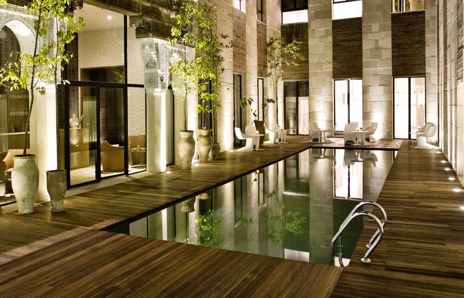 Patio riad f s morocco riad fes hotel resort spa for Courtyard designs with spa