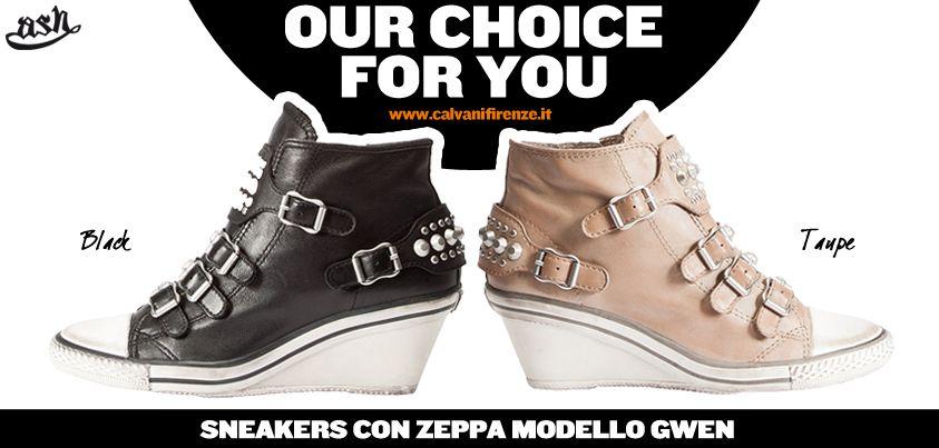Sono arrivate le #zeppe che amiamo! Sono più comode dei tacchi e ci fanno sentire alte al punto giusto! Scopri le #Gwen di Ash!