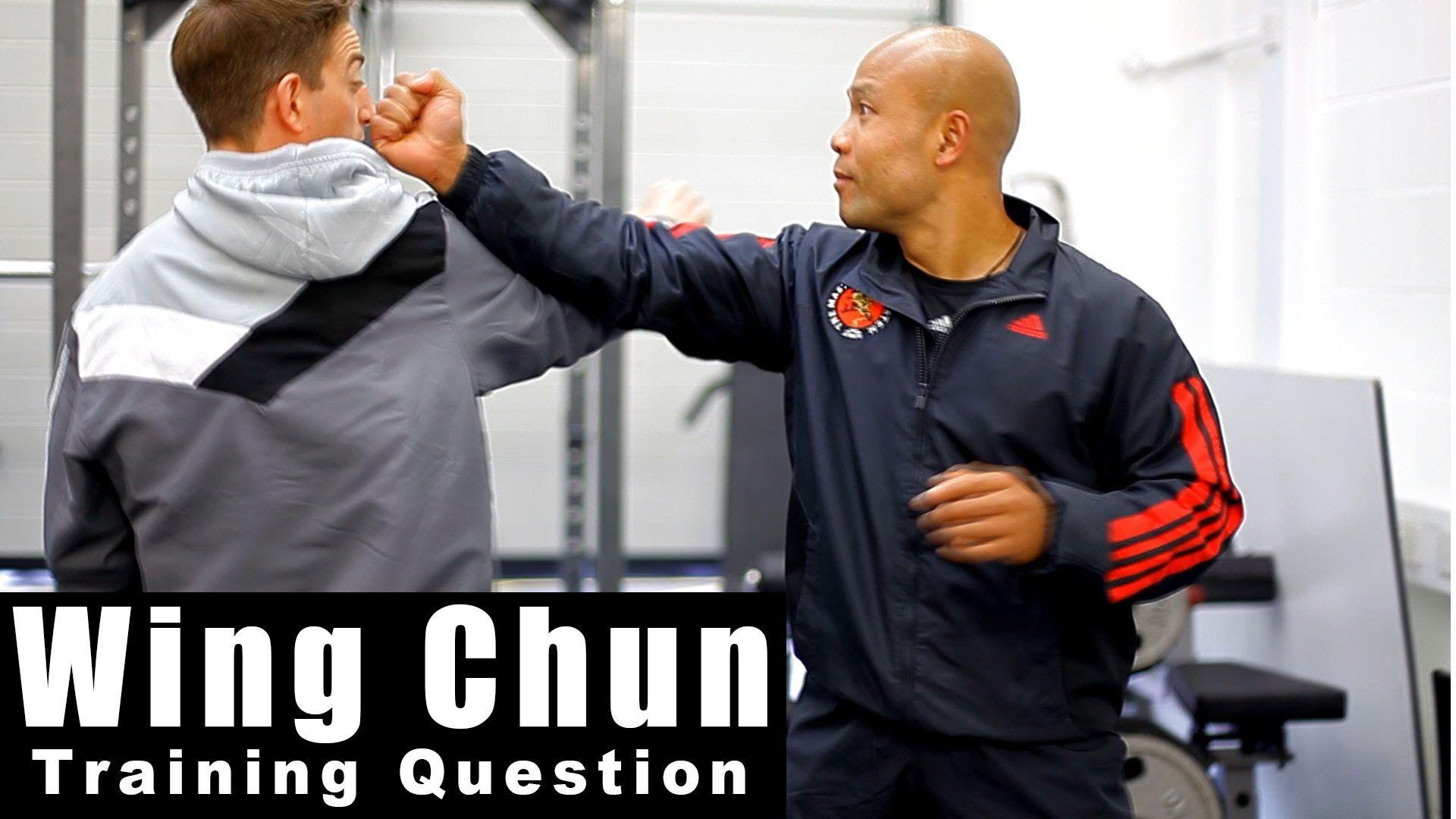 Wing Chun Techniques How To Block A Straight Punch Q1 Master Wong Wingchun Taichi Jkd Wing Chun Training Wing Chun Wing Chun Martial Arts