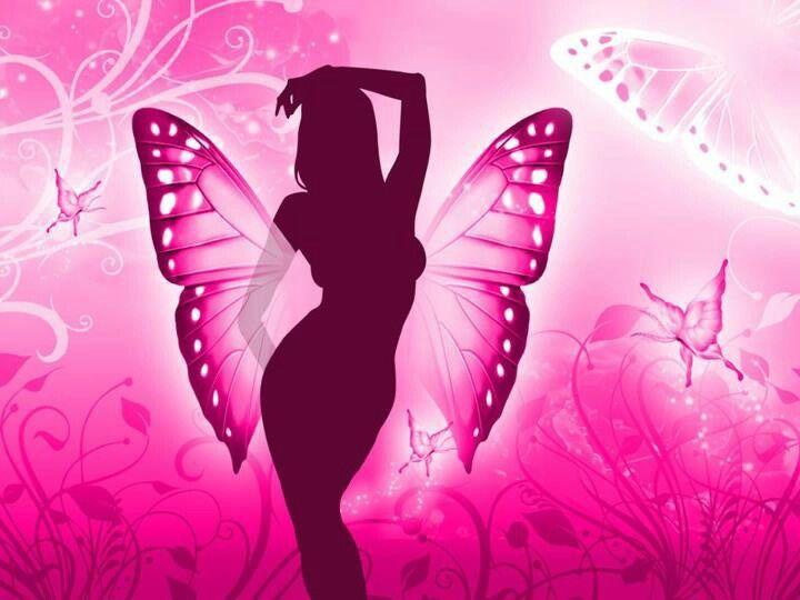 Butterfly Silhouette Most Beautiful Butterfly Butterfly Wallpaper Fairy Wallpaper