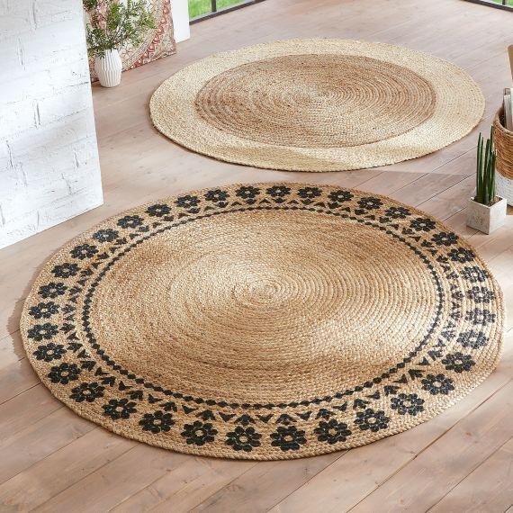 Jute Teppich Ronda Wohnen Jute Teppich Jute Und Textilien