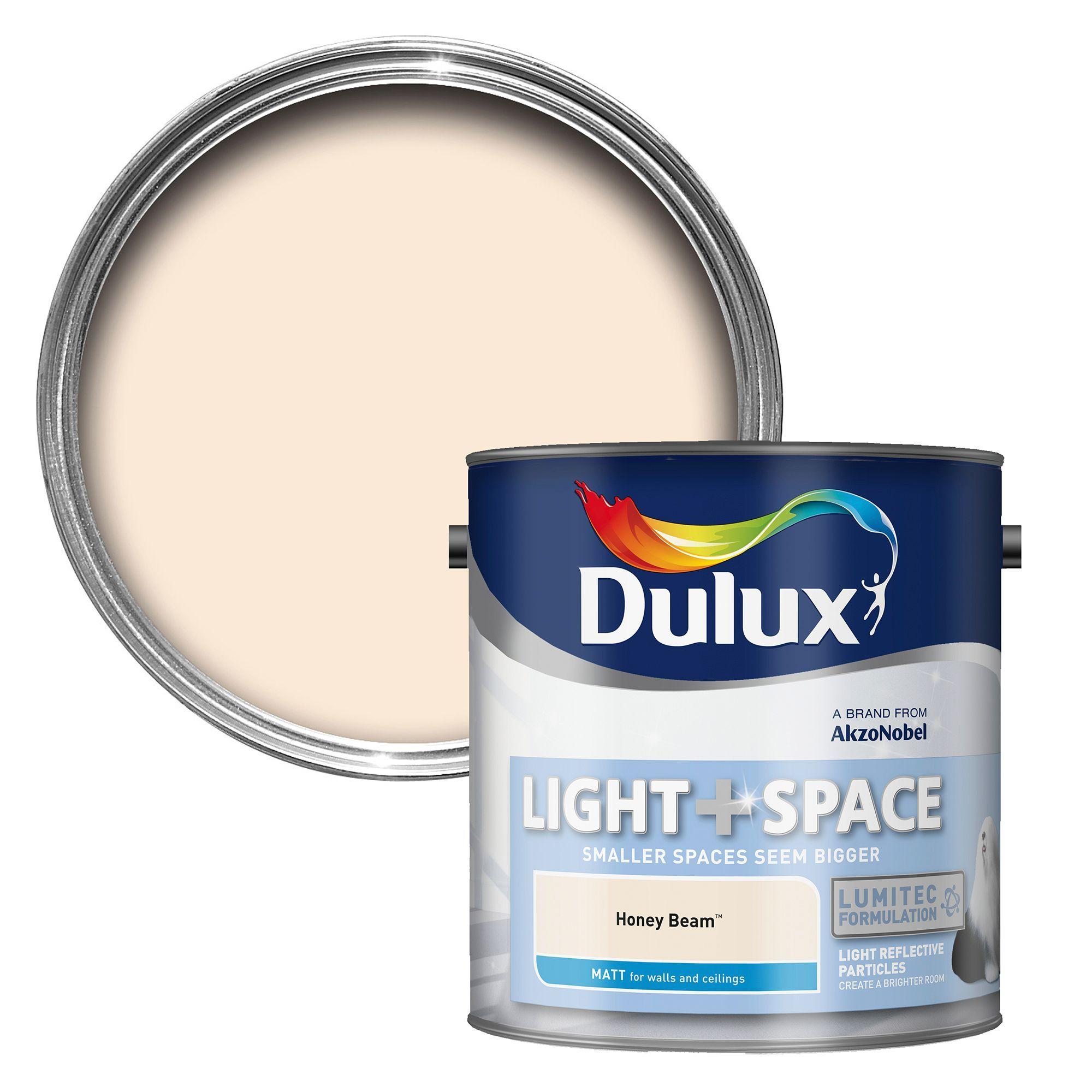 Dulux Light Space Honey Beam Matt Emulsion Paint 2 5l Departments Diy At B Q Dulux Light And Space Dulux Light And Space