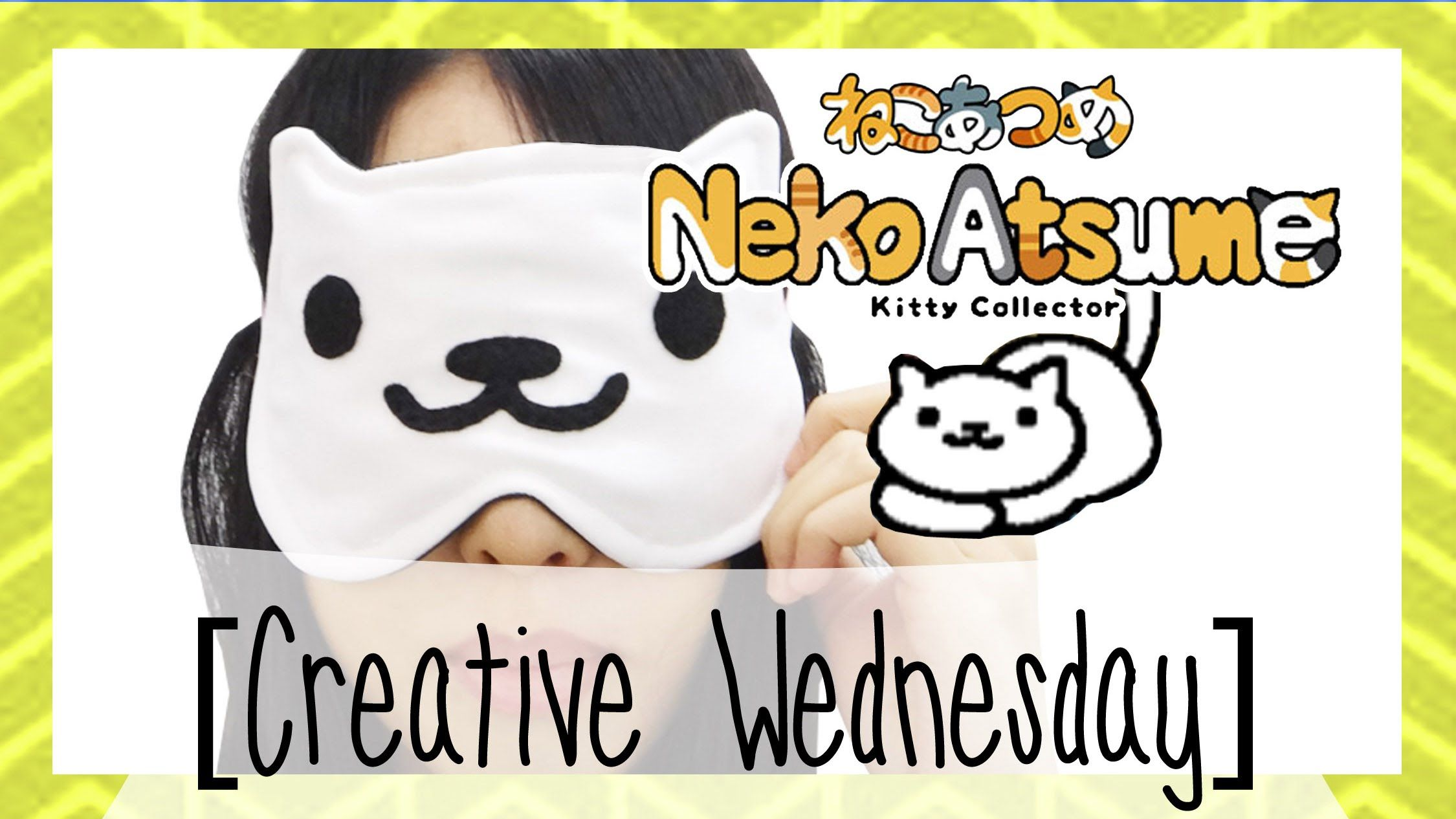 Learn how to make an adorable Neko Atsume cat sleeping