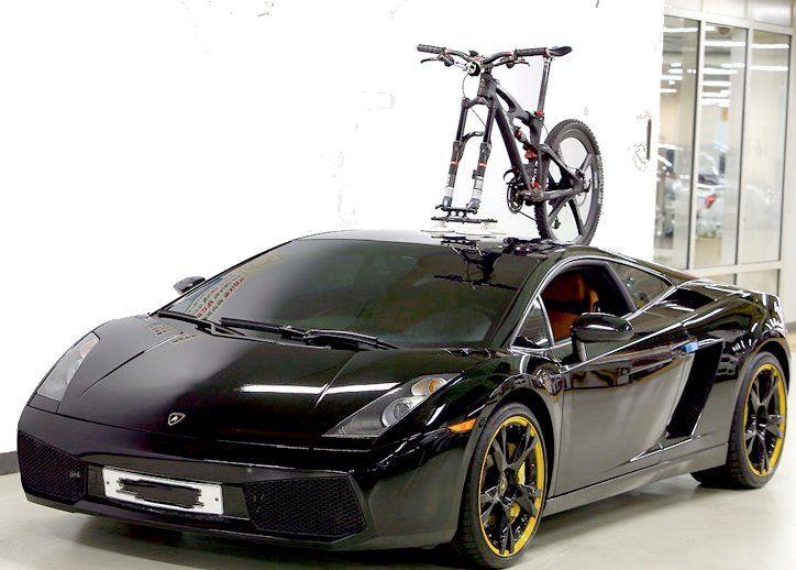 For The Person Who Has It All How About Mounting A Bike Rack On A