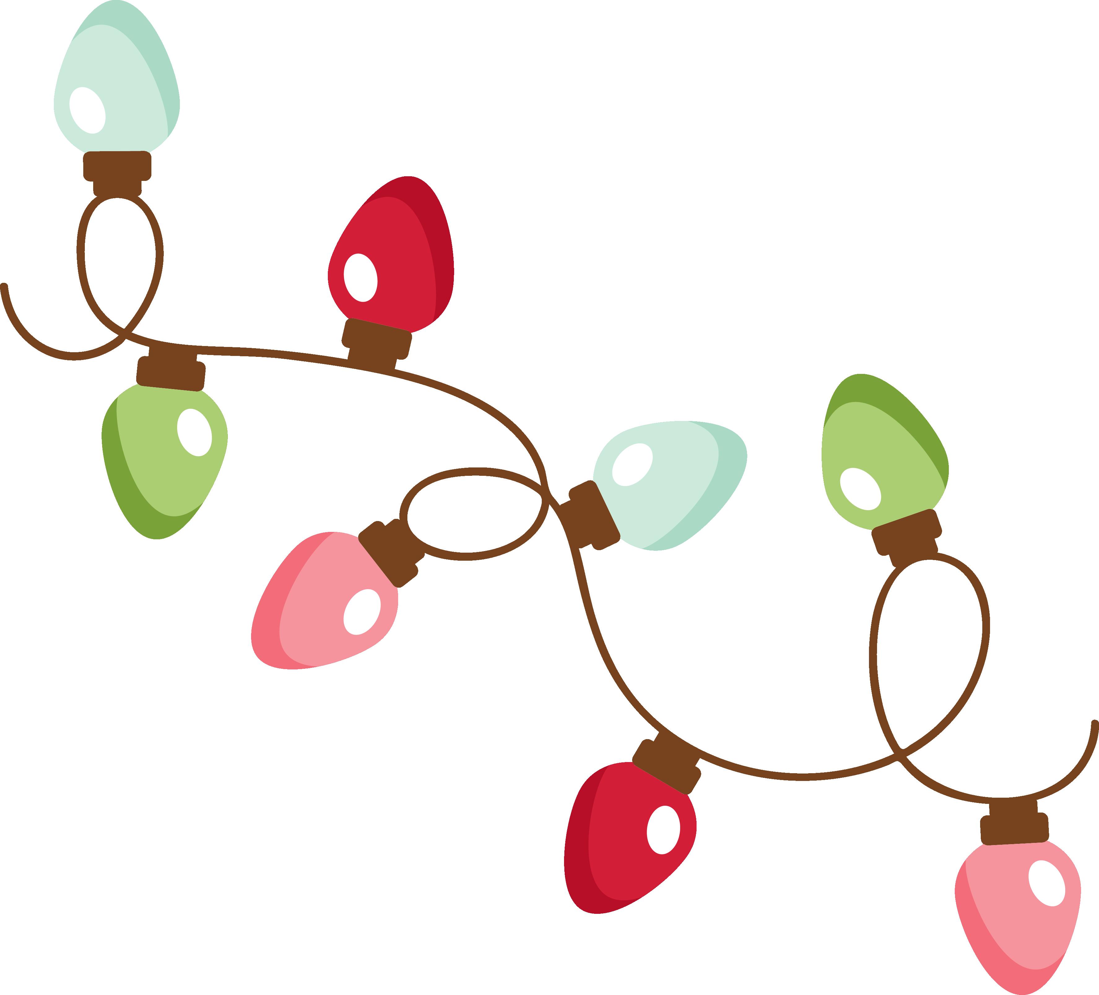 MKC_Christmas Lights SVG Christmas lights clipart