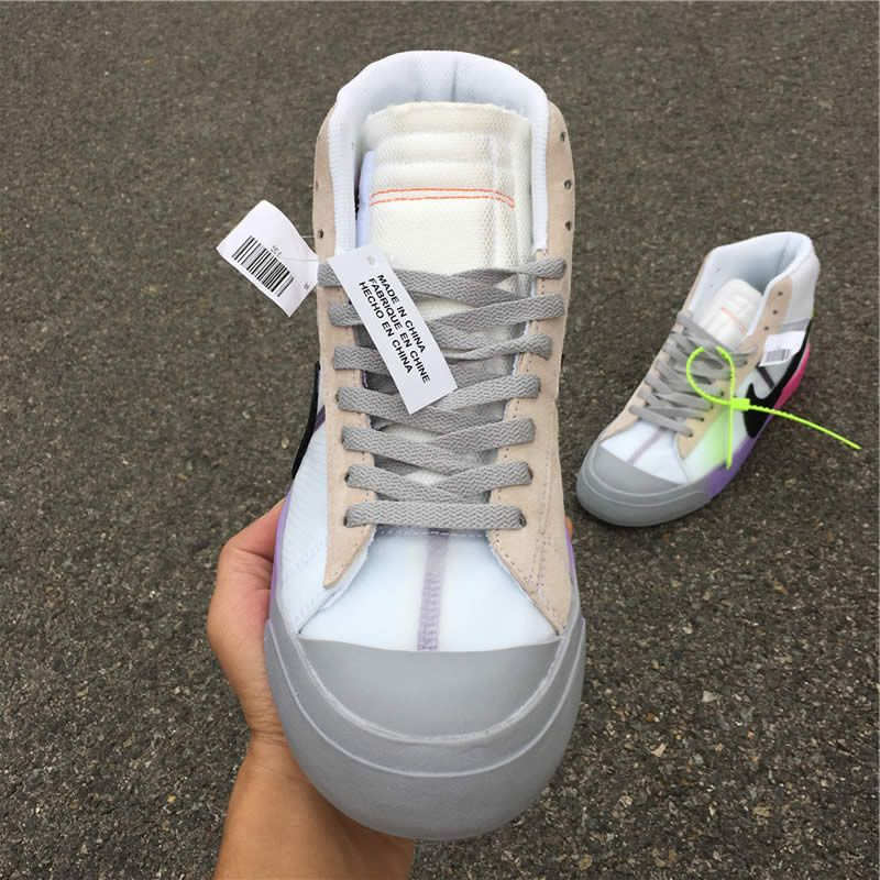 7477d86532 Serena Williams x OFF-WHITE x Nike Blazer Studio Mid 'Queen' AA3832 ...