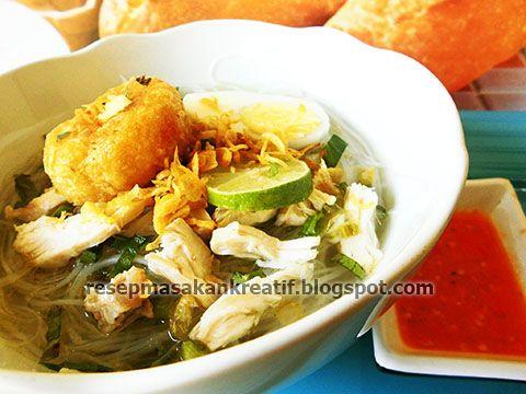 Soto Banjar Bening Resep Resep Masakan Indonesia Resep Masakan