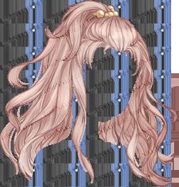 Music Princess Golden Brown Love Nikki Database Manga Hair Anime Hair Chibi Hair