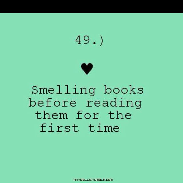 The smell of the #book is half the fun