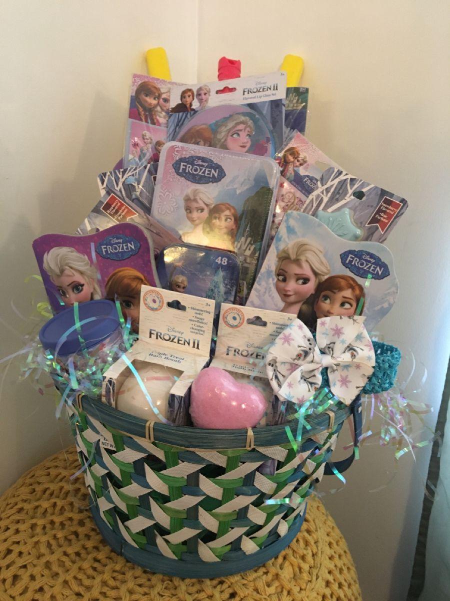 Frozen gift basket in 2020 gift baskets frozen gifts