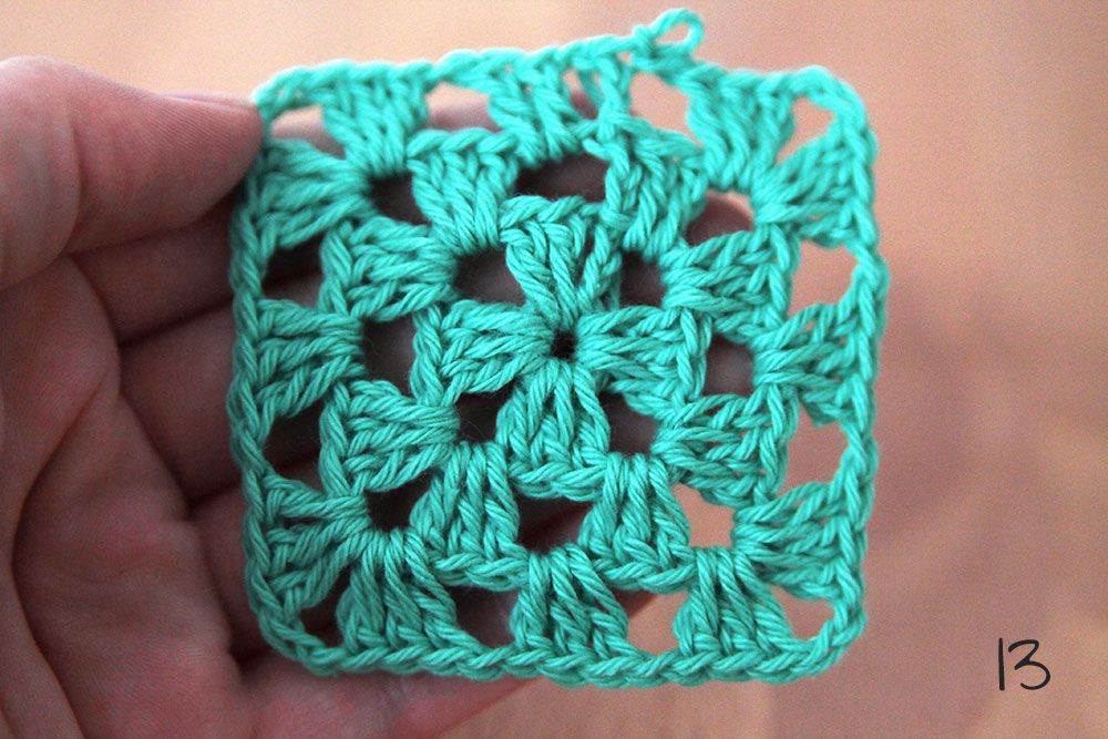 How to crochet a granny square - Crochet lessons | Pinterest | Haken ...