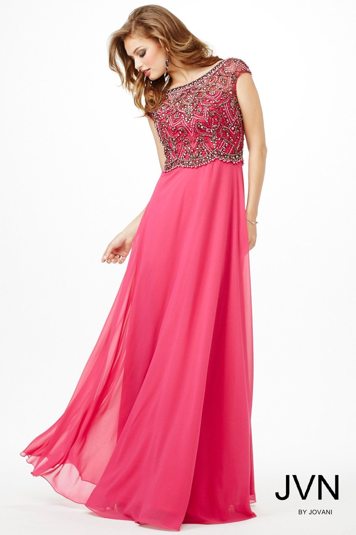 Pretty in pink in #JVN 20085 | Prom Dresses 2016: JVN | Pinterest