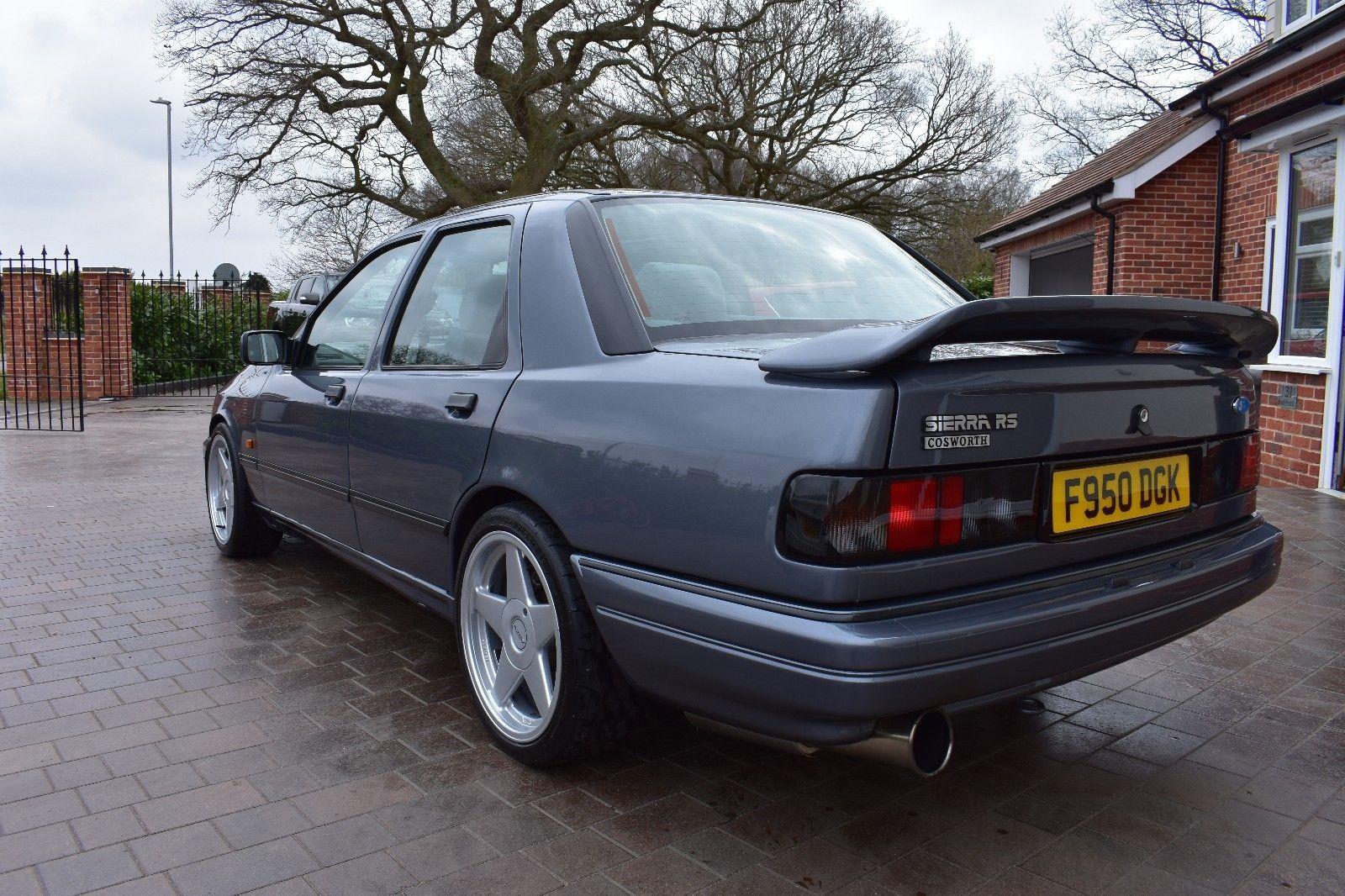 Ebay Ford Sierra Sapphire Rs Cosworth 1988 2wd Mercury Grey