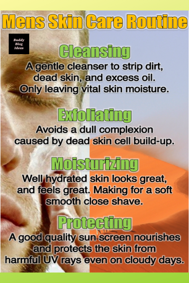 Women Love This Skin Care Routine For Guys Basic Skin Care Routine Skin Care Routine Men Skin Care Routine