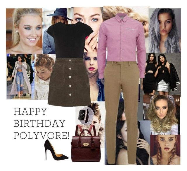 """Happy Birthday Polyvore"" by maddienowaczyk ❤ liked on Polyvore featuring Topshop, Alice + Olivia, Scotch & Soda, Brioni, Christian Louboutin, Mulberry, women's clothing, women, female and woman"