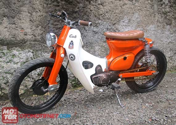 referensi modifikasi motor honda c70