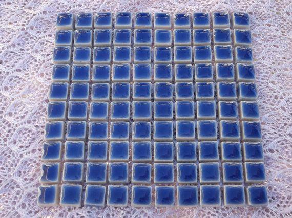 Blue Ceramic Tiles For Mosaics Blue Mosaic Tiles Inch Square - 3 inch square ceramic tiles