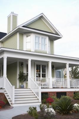 How To Install Outside Corner Trim On A Building Country House Decor Building A House Low Country Homes