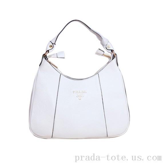 Fashion  Prada Grainy Leather Shoulder Bag Outlet store  7385c4c537ee2