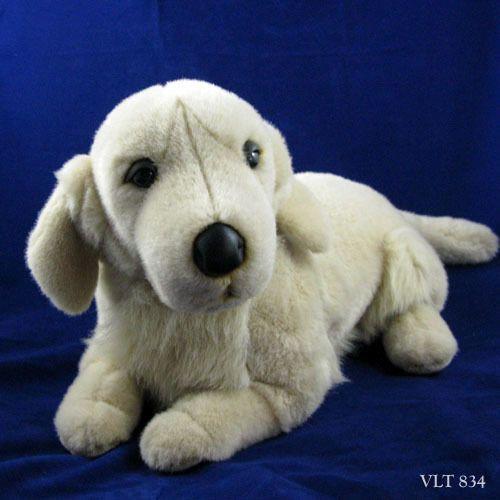 Fao Schwarz Large Golden Retriever Lab Labrador Dog Plush