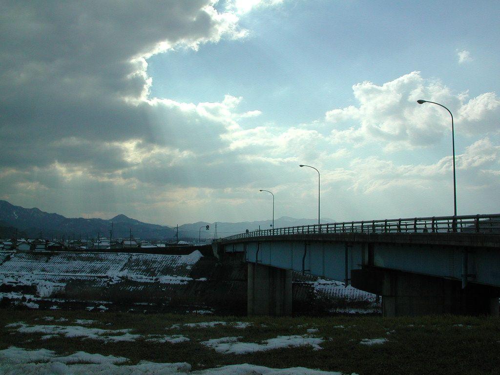 寒い冬の風景