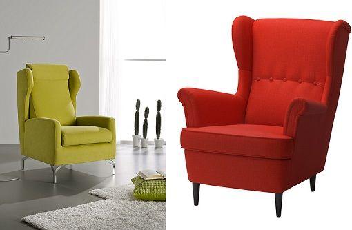 Sillones orejeros baratos muebles en 2019 sillones - Sofas individuales modernos ...