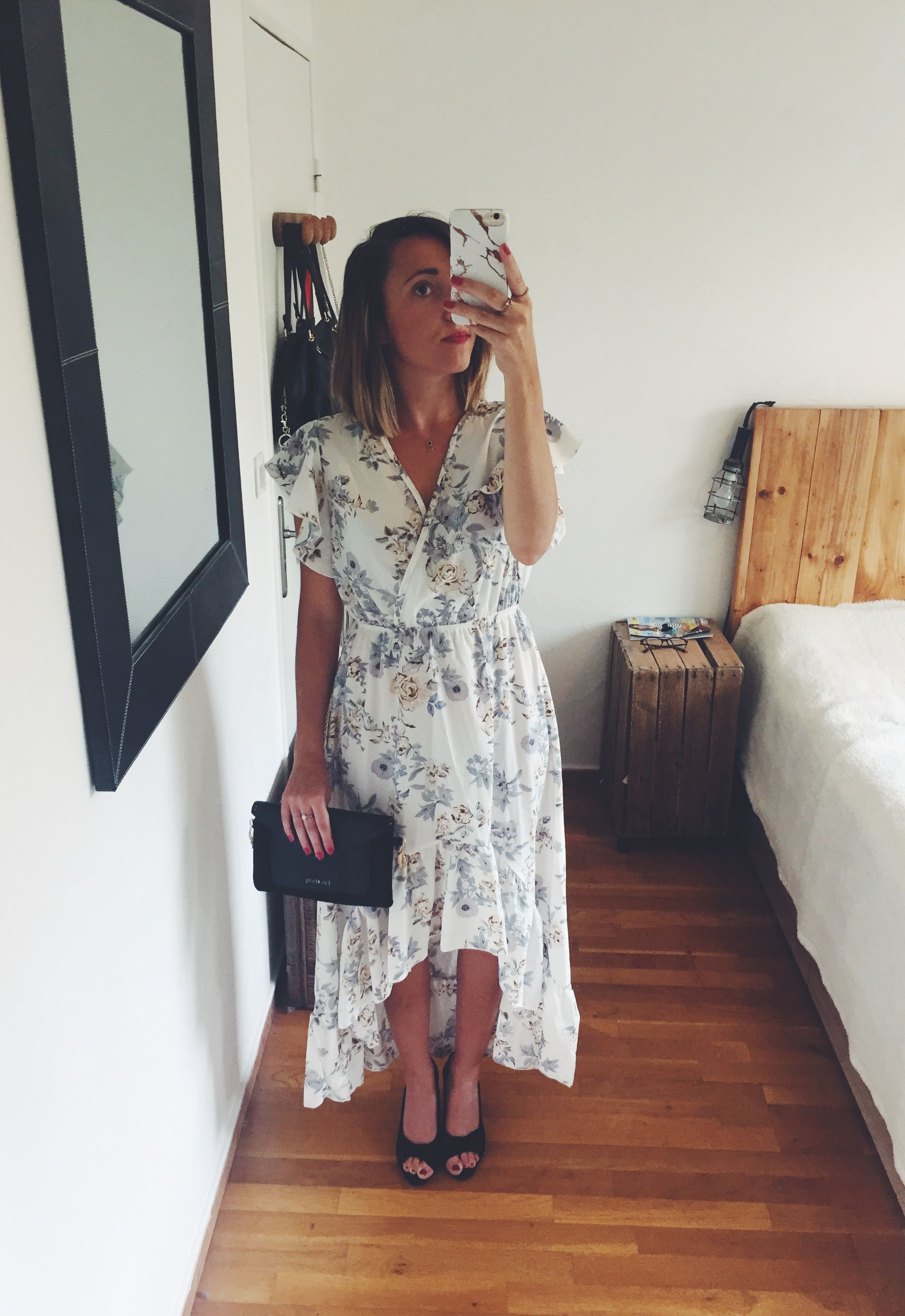 la robe parfaite pour un mariage champêtre