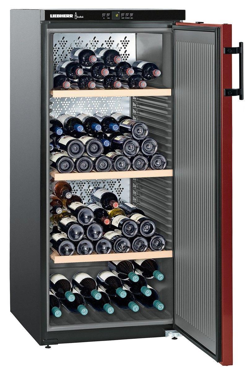 Liebherr Wkr 3211 Vinothek Wine Cooler Wine Cabinets Best Wine Coolers Wine Preserver