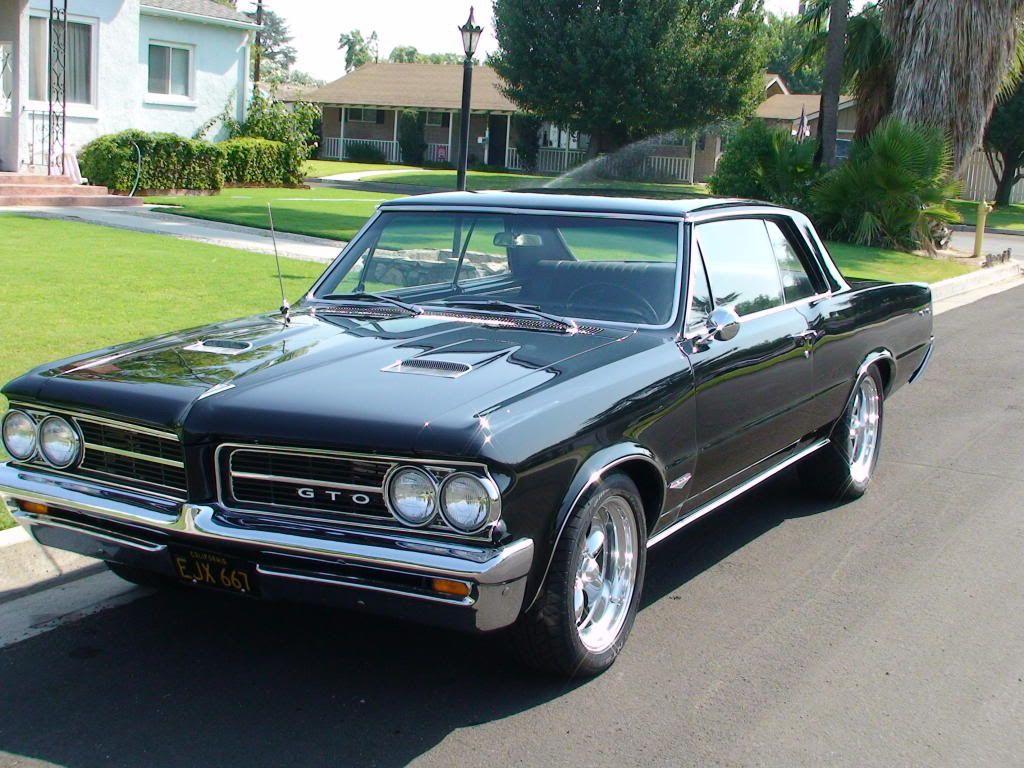 1964 GTO Pontiac. Gto