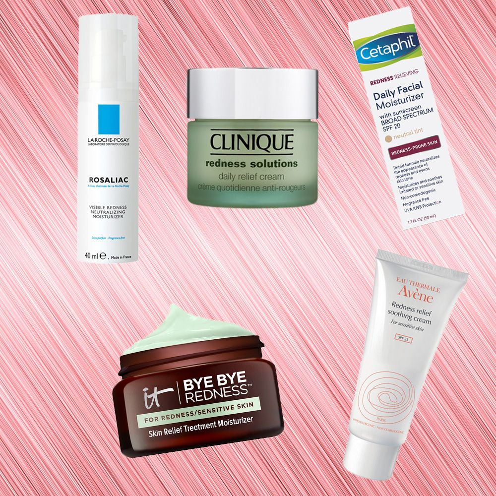 8 Moisturizers That Ll Get Rid Of Redness Clinique Redness Solutions Moisturizer Skin Redness
