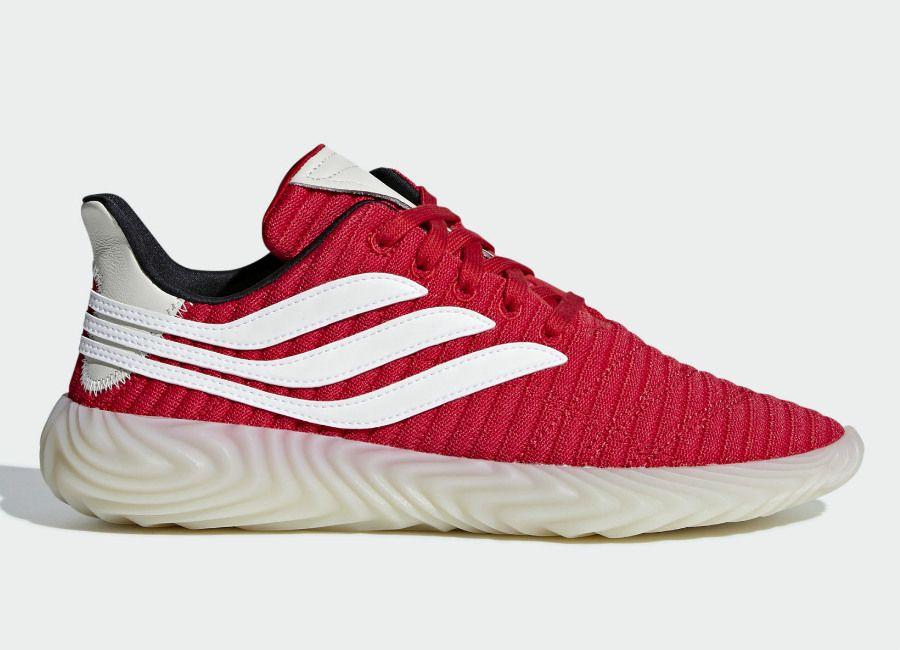 Adidas Sobakov Shoes - Scarlet / Ftwr