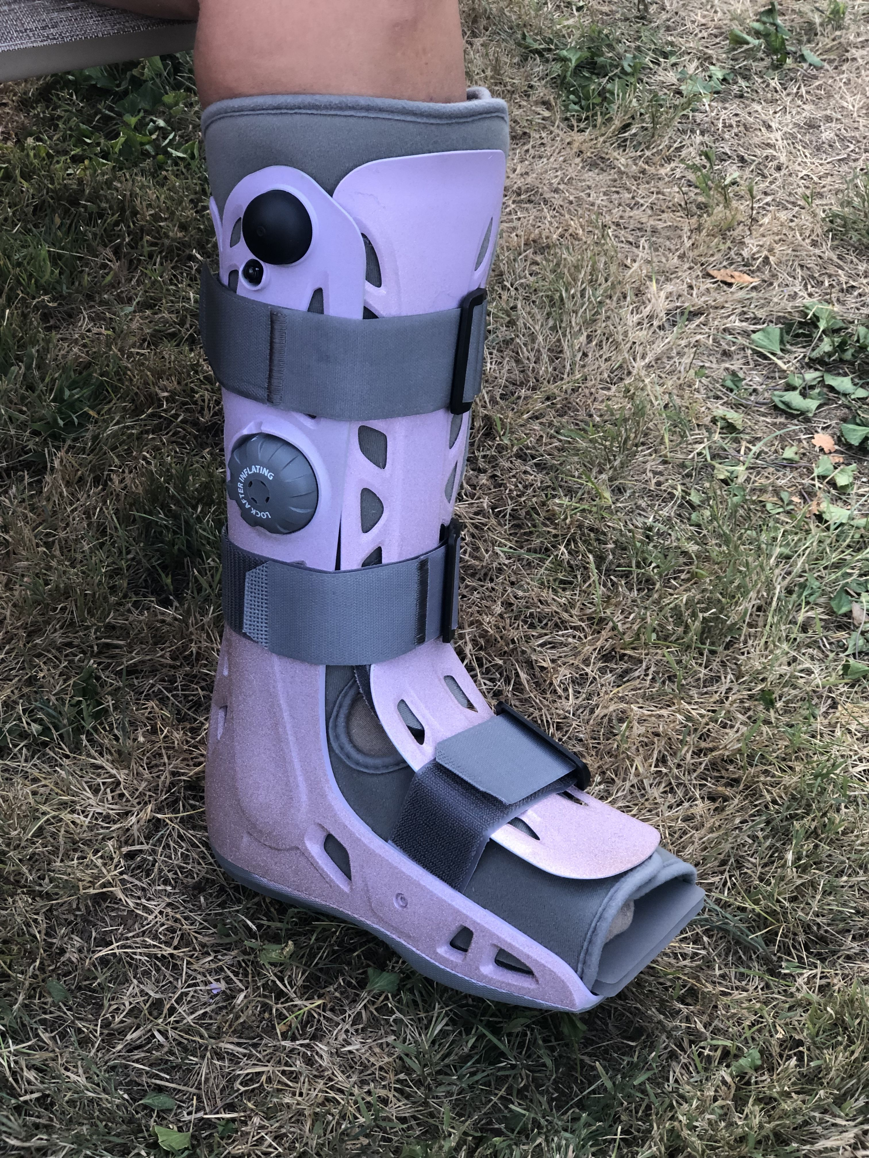 Diy Painted Walking Boot Boots Air Cast Boot Walking Boots