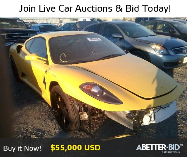 Ferrari F430 For Sale: Salvage 2006 FERRARI ALL MODELS For Sale