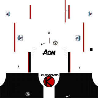 Manchester United Kits 2012 2013 Dream League Soccer In 2020 Manchester United Soccer Kits Manchester United Away Kit