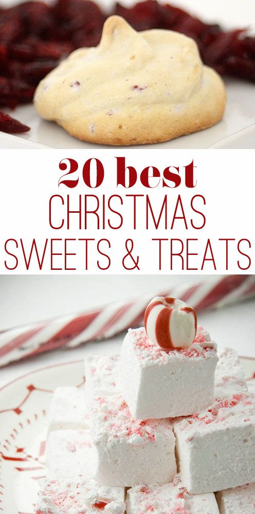 20 Best Christmas Cookies and Candy Ideas | Christmas sweets ...