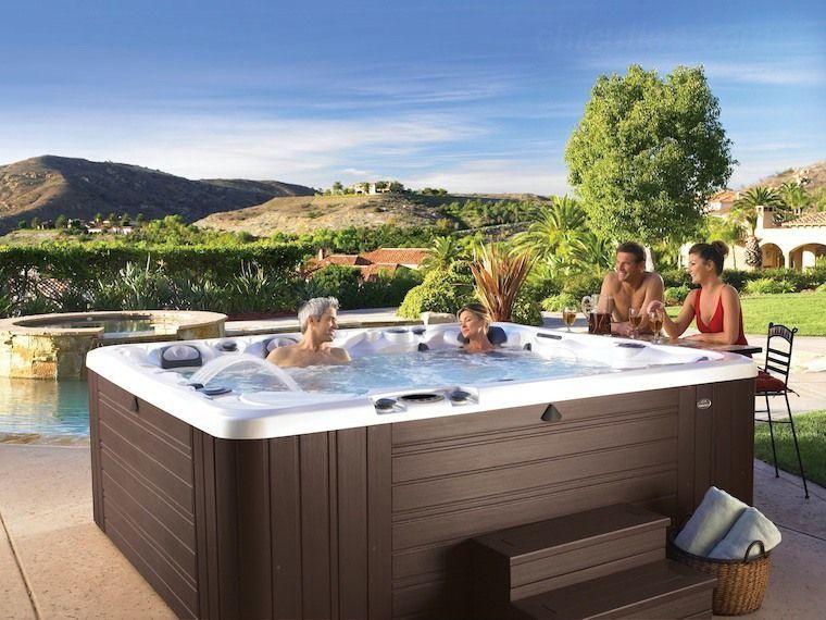 58 Stunning Garden Hot Tub Deck Design Ideas #hottubdeck 58 Stunning Garden Hot Tub Deck Design Ideas – Page 23 – Chic Cuties Blog #hottubdeck