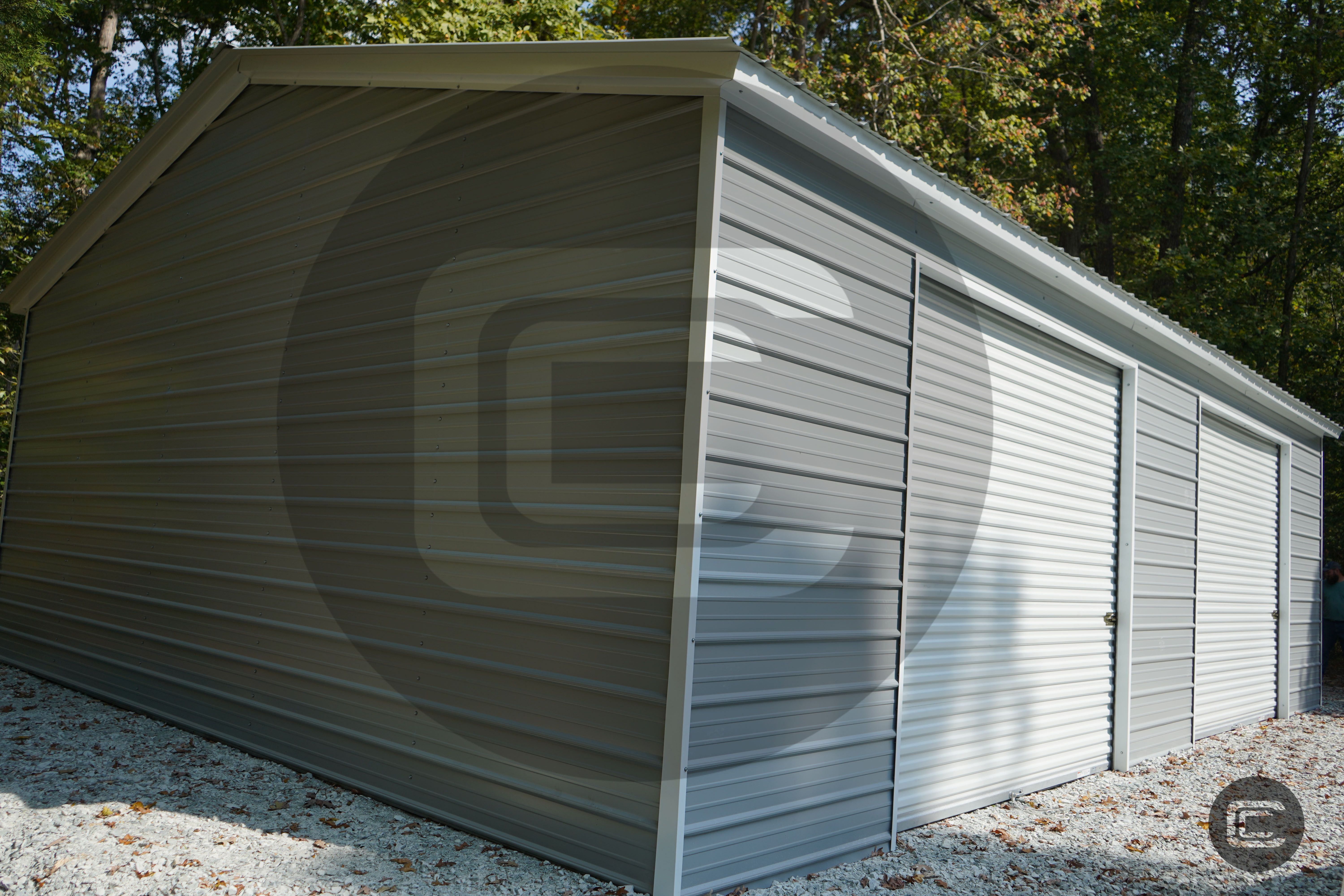 Carport Central's install of the week is this custom
