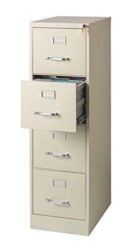 Elegant 3 Drawer Vertical File Cabinet Putty