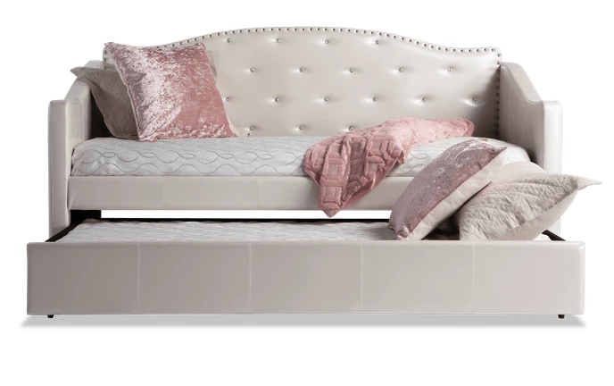 Madelyn Pearl Daybed With Trundle Daybed With Trundle Trundle