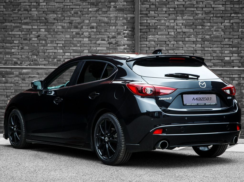"Mazda3 ""Black Limited"" (BM) '2015 Autos deportivos"