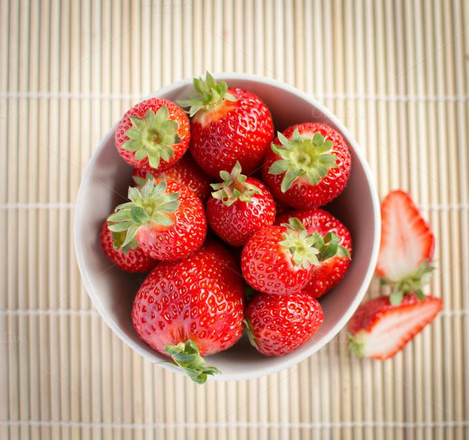 Check out Strawberries by Grounder on Creative Market