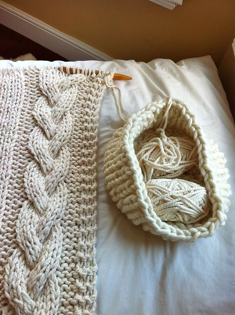 Cable Knit Blanket Pattern By Knitting Revolution Knit