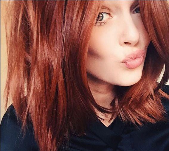 Couleur de cheveux d automne