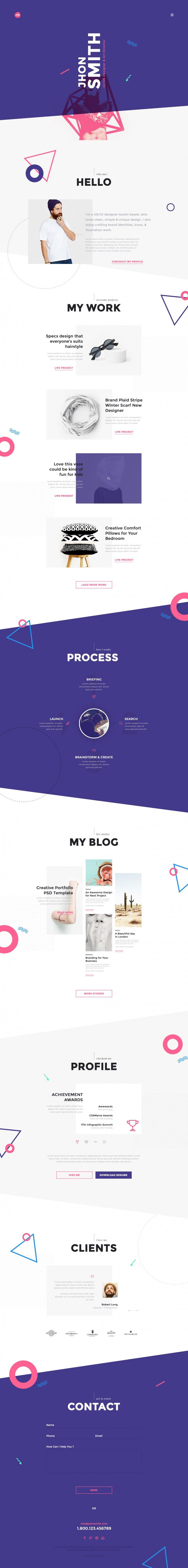 Portfolio For Resume Me  Creative Portfolio & Resume  Cv  Creative Portfolio Resume .