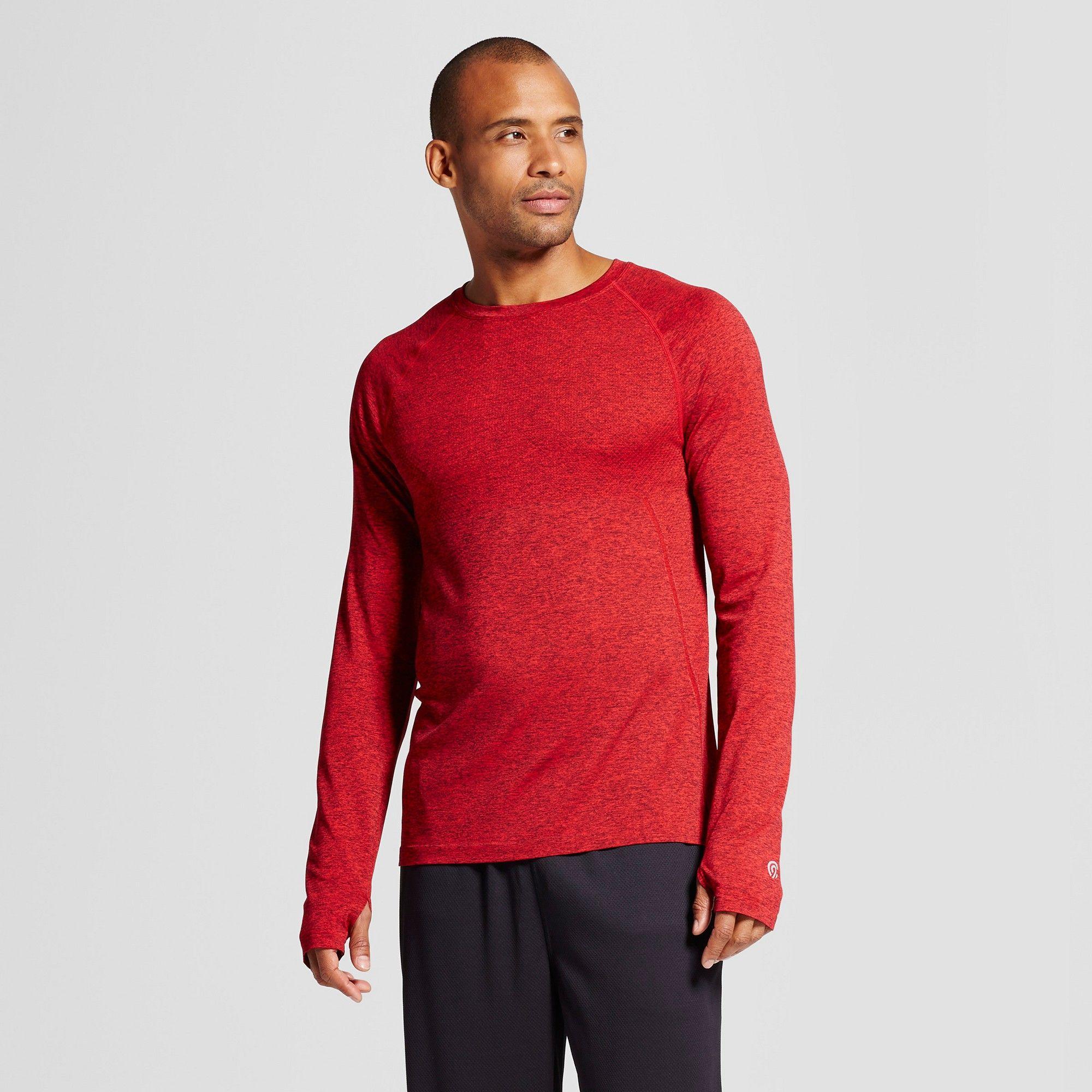 a922efdd9 Men's Longsleeve Seamless T-shirt - C9 Champion Ripe Red Heather M ...