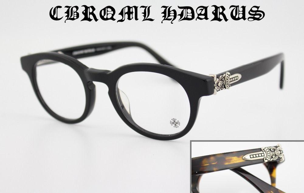 Acetate Round Glasses frame Women Optical Frames Handwork Vintage ...